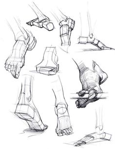 Enjoy a collection of references for Character Design: Feet Anatomy. The collection contains illustrations, sketches, model sheets and tutorials… This gall Drawing Skills, Drawing Lessons, Drawing Techniques, Life Drawing, Drawing Tips, Drawing Ideas, Drawing Tutorials, Sketch Drawing, Manga Drawing