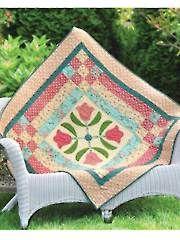 New Quilt Patterns - Tulip Topper Quilt Pattern