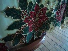 mantel navideño Succulents, Plants, Christmas, Cook, Crochet, Videos, Google, Youtube, Christmas Dinner Tables