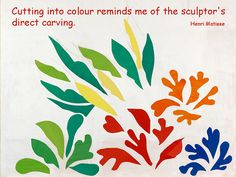 """""""Cutting into colour reminds me of the sculptor's direct carving."""" Henri Matisse.Henri Matisse: The Cut-Outs opens at Tate Modern today (17th April) and runs until 7th September."""