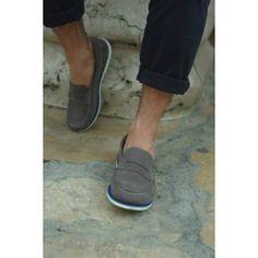 Lima Grey mocassino uomo #scarpevegane #scarpeuomo