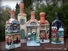 Декупаж - Сайт любителей декупажа - DCPG.RU | Рождественские домики