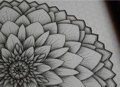Mandala Designs, worksofacirclethinker: The Black Dahlia This is...