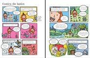 See inside Write and Draw Your Own Comics  #comics #book #illustration #art #writing #drawing #creative #ideas #kids #children #book #Usborne #cartoon #DIYComics #comicstrip #literacy