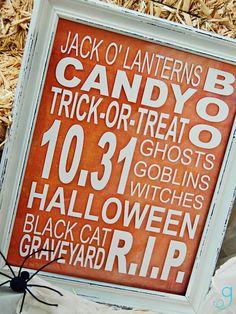 Halloween Vinyl Decals