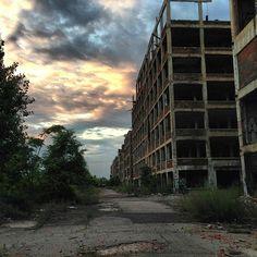 Packard Plant in Detroit, MI