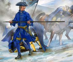 Swedish officer, Great Northern War