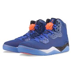 Nike Air Jordan Spike PE Game Royal / Orange / White / Black - Nike Air Jordan This new Nike Air Jordan Spike PE 'Forty' is the first colourway of a new silhouette for the Spike Lee franchise within the Air Jordan range. It is Lee's 'player exclusive' follow up.