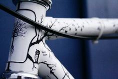Hand-painted bike best gift for girl | I Bike Toronto