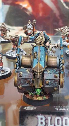 Dwarf Steamroller