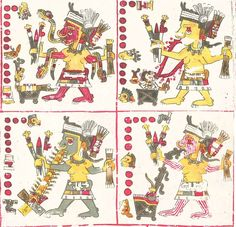 In Aztec mythology, the Cihuateteo were the spirits of human women who died in childbirth (mociuaquetzque.). Childbirth was considered a form of battle, and its victims were honored as fallen warriors.