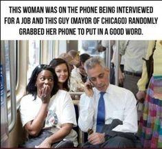 Strangers helping strangers!