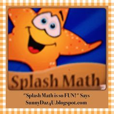 AWESOME APP: SPLASH MATH! #Kids Have FUN With Your Own Virtual Aquarium You Earn Fishes And Practice Math. Parents and Teachers Will Love That It Is Aligned to The Common Core. Enjoy Making #Education FUN! Wishing Sunshine And SunnyDaz4U.blogspot.com