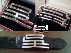 aquilafashions.com - personalized buckle - reuse buckle - replacement belt straps. A 吴 buckle I designed. Customize buckle service available now. 925 silver, 5% platinum jewel buckle. Non-tarnishing properties, long-lasting shine, scratches can be polished away. Only by beltboy jewels.