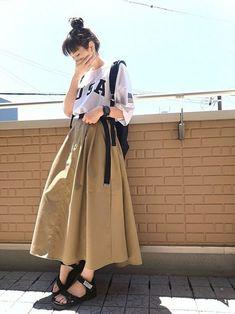 ファッション ファッション in 2020 Modern Hijab Fashion, Muslim Fashion, Cute Fashion, Modest Fashion, Skirt Fashion, Daily Fashion, Fashion Outfits, Korean Street Fashion, Korea Fashion