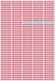 Typography and font ideas and inspiration. Tyler Spangler –Obligations / I am doing whatever I want now poster. Love the red, pink and blue colour combination. Now Quotes, Words Quotes, Quotes To Live By, Sayings, Blue Quotes, Music Quotes, The Words, Tyler Spangler, Plakat Design