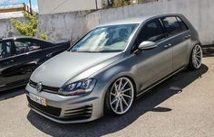 VW Golf mk7 Vossen wheels
