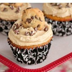 Cookie cupcakes.