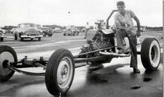 Vintage Drag Racing - Dragster - Don Garlits One of the first and still the most popular.