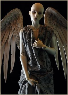 Handmade Angel Doll Wings 20in by TheMushroomPeddler on Etsy, $88.00