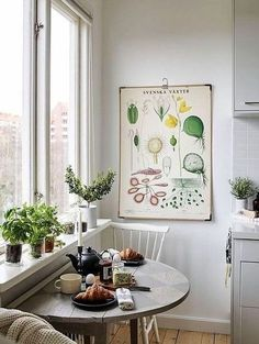 The 21 Best Small Kitchen Ideas of All Time - Apartment inspiration - Apartment Decor Little Kitchen, Eat In Kitchen, Kitchen Ideas, Kitchen Small, Kitchen Nook, Space Kitchen, Country Kitchen, Ideas For Small Kitchens, Small Kitchen Inspiration