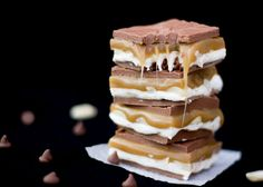 How To Make No Bake Homemade Snickers Bars