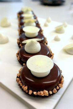 """""""trois chocolats"""" by François Daubinet pour la Michalak Masterclass"""