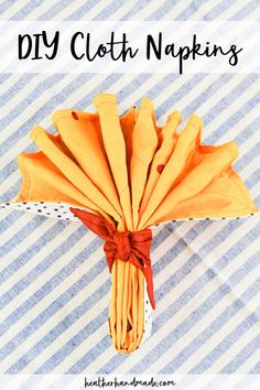 Learn how to make DIY cloth napkins with silk and cotton fabric for the perfect reusable table setting. They are luxurious and absorbant and can match any holiday decor! Sewing Blogs, Sewing Hacks, Sewing Tutorials, Sewing Tips, Sewing Patterns Free, Free Sewing, Halloween Sewing Projects, Easy Handmade Gifts, How To Make Diy