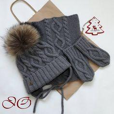 Комплект связан на заказ и отправляется в Оренбург.  Шапка утеплена флисом. Связан из 100 % мериносовой шерсти Италия. #knitting #knitagram #knit #knitwear #knittersofinstagram #knitted #kinder #children #wool #merino #i_loveknitting