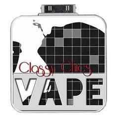 Classy Chics Vape  Portable Battery Charger for iPhone 4/4S/3G/3GS (White) #vape