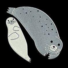 Seal Cartoon, Cartoon Art, Sea Lions, Sea Creatures, Fertility, Seals, Boy Or Girl, Cartoons, Printing