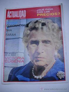 Principal - REVISTA LA ACTUALIDAD ESPAÑOLA.EN PORTADA LOS 80 AÑOS DE LA REINA VICTORIA EUGENIA.EL SHA,HITLER....