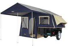 The BushRanger 200 Camping Tent Utility Trailer from Kakadu Camping Inc..