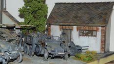 "Krupp Protze ""Kfz.69 Zugwagen für 3,7-cm-PaK 36"" Scale Models, Modeling, Miniatures, Military, Outdoor Decor, Dioramas, Model Building, Modeling Photography, Fashion Models"