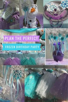 Frozen Princess Birthday Party in a Box. Ships Fast to you with everything you…