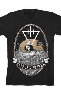 Sailor's Prayer Tee (Black) T-Shirt - The Devil Wears Prada T-Shirts - Online Store on District Lines