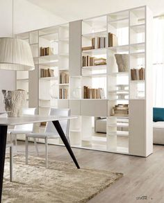 Home Furniture Design Cabinets 18 New Ideas Living Room Partition Design, Living Room Divider, Room Partition Designs, Living Room Shelves, Home Living Room, Living Room Designs, Bedroom Divider, Room Dividers, Bookshelf Room Divider