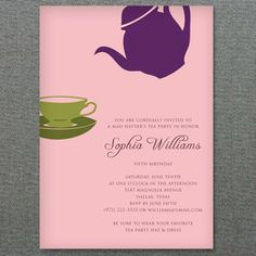Scroll Frame Bridal Shower Invitation Template  Invitation
