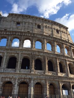At the Colosseum. Our Italy trip Sept 2014