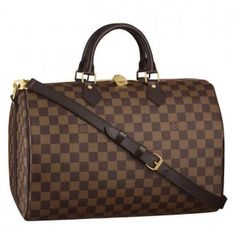 Louis Vuitton Speedy 35 Damier Ebene Canvas N41182