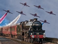 Awesome ! Thought i would pin this fab photo on this board, to remind us all how much times have changed. Working on the railroad....to fighter jet pilot....