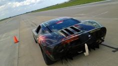 Ford sets a record by hitting 212 mph from a standstill