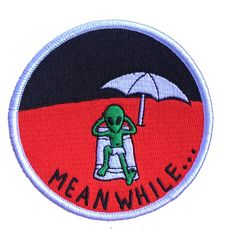Image of Chillin, abductin patch
