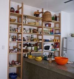 la casa del limonero: La estantería para la cocina
