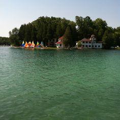 Elkhart Lake WI - View of Camp Brosius
