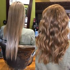 Picture consequence for multi textured perm earlier than and after – Permed Hairstyles - Perm Hair Styles Body Wave Perm, Beach Wave Perm, Beach Waves, Loose Curl Perm, Permanent Waves, Pretty Hairstyles, Ladies Hairstyles, Wavy Permed Hairstyles, Tips Belleza