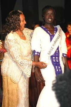 Chuna Okok, the first woman from Gambella to be crowned Miss Ethiopia in 2009. Her victory is proof that Ethiopia is a country of many faces and diverse definitions of beauty.
