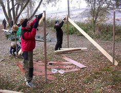 Adventure play - Construction play - Architecture in education. Project in 2 primary schools in Aurskog-Høland. Project leader: Frode Svane. https://www.facebook.com/svane.frode  Den Kulturelle Skolesekken.