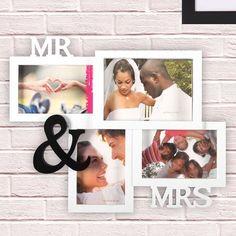 Mr & Mrs Multi Photo Frame
