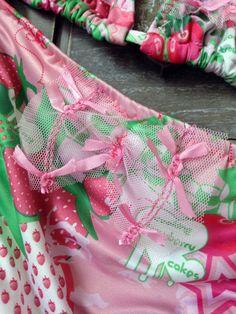 Girl Bikini 4-5-6-7-8 Print Strawberry Kids by GiuliaGaruti